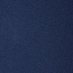 Granatowa gładka zasłona z matowej satyny 140x250 przelotki - 140x250 - Granatowy 3