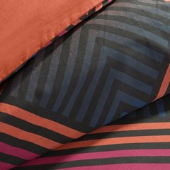 Komplet pościeli bawełnianej diego 160x200 2szt 70x80 styl nowoczesny - 160 X 200 cm, 2 szt. 70 X 80 cm - wielokolorowy 4