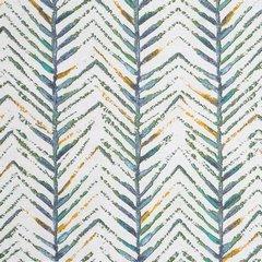 Komplet pościeli bawełnianej AURA 160x200 2szt 70x80 styl nowoczesny - 160x200 - musztardowy, szary, zielony, kremowy 1
