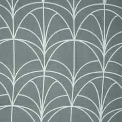 Komplet pościeli z bawełny ARTDECO 160x200 2szt 70x80 nowoczesny wzór - 160x200 - szary, biały 1