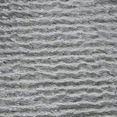 Delikatny POPIELATY koc faktura w srebrne paski 170x210 cm - 170x210 - Różowy 2