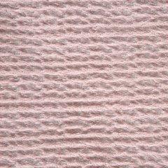 Pudrowy koc z akcentami srebrnych pasków 70x160 - 70 X 160 cm - pudrowy/srebrny 5