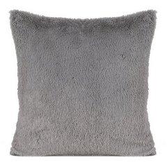 Stalowa poszewka z polaru szara 40x40 cm - 40 X 40 cm - srebrny 1