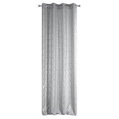 Zasłony Oli z geometrycznym wzorem srebrne na przelotkach 140x250cm - 140 X 250 cm - stalowy/srebrny 6