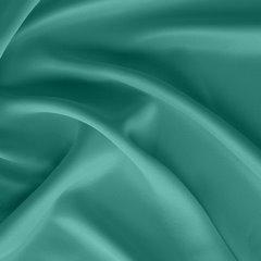 Gładka turkusowa zasłona zaciemniająca 135x250 na przelotkach - 135x250 - Turkusowy 1