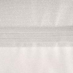 Biały bieżnik do jadalni błyszczący lureks 35x140 cm - 35 X 140 cm - biały 3