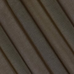 Półprzejrzysta brązowa firana na przelotkach 140x250 - 140 X 250 cm - brązowy 3