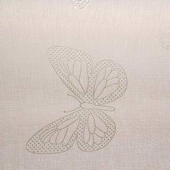 Zasłona różowa w motyle na przelotkach 140x250cm - 140x250 - różowy 9