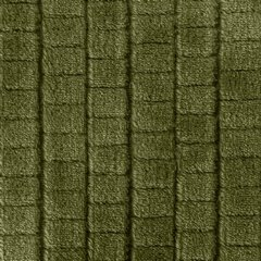 Cindy miękki koc z mikroflano oliwkowy 150x200 cm Design 91 - 150 X 200 cm - oliwkowy 4