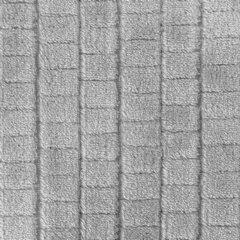 Cindy miękki koc z mikroflano srebrny 170x210 cm Design 91 - 170 X 210 cm - popielaty 4