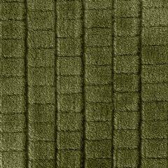 CINDY 2 OLIWKOWY KOC Z MIKROFLANO WZÓR KOSTKI 3D 170x210 cm DESIGN91 - 170 X 210 cm - oliwkowy 6