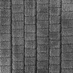 Cindy miękki koc z mikroflano stalowy 200x220 cm Design 91 - 200 x 220 cm - szary 4