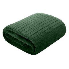 Cindy miękki koc z mikroflano zielony 70x160 cm Design 91 - 70 X 160 cm - ciemnozielony 3