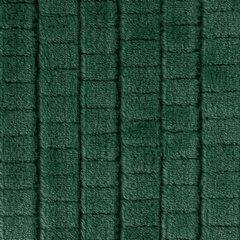 Cindy miękki koc z mikroflano zielony 70x160 cm Design 91 - 70 X 160 cm - ciemnozielony 6