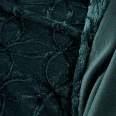 Narzuta futerko na fotel ciemny turkus 70x160 cm - 70 X 160 cm - petrol 4