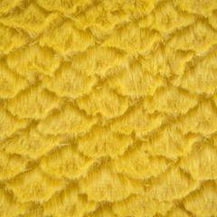 Amber koc z mikroflano z efektem 3D musztardowy 70x160 cm Design 91 - 70 X 160 cm - musztardowy 7