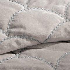 Ekskluzywna narzuta do sypialni pikowana - mój wybór Eva Minge - beżowa 220x240 cm - 220 X 240 cm - beżowy 7