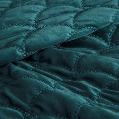 Ekskluzywna narzuta do sypialni pikowana - mój wybór Eva Minge - turkusowa 220x240 cm - 220 X 240 cm - ciemnoturkusowy 4