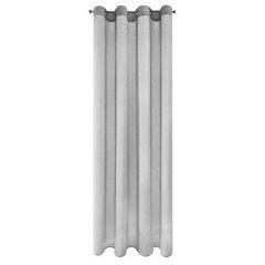 Oryginalna FIRANA Z DŻETAMI na przelotkach 140x250 cm srebrna - 140x250 - Srebrny 7