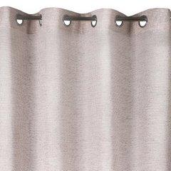 Różowa zasłona o strukturze szenilu na przelotkach 140x250 cm - 140x250 - różowy 2