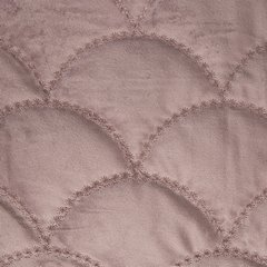 Ekskluzywna narzuta do sypialni pikowana - mój wybór Eva Minge - różowa 220x240 cm - 220 X 240 cm - różowy 3