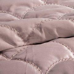 Ekskluzywna narzuta do sypialni pikowana - mój wybór Eva Minge - różowa 220x240 cm - 220 X 240 cm - różowy 7