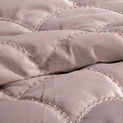 Ekskluzywna narzuta do sypialni pikowana - mój wybór Eva Minge - różowa 220x240 cm - 220 X 240 cm - różowy 4