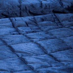 Pikowana NARZUTA do SYPIALNI - Mój wybór EVA MINGE  - granatowa 220x240 cm - 220x240 - Granatowy 3