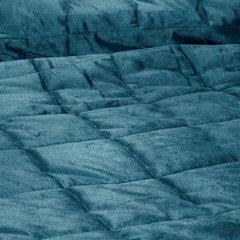 Pikowana narzuta do sypialni - mój wybór Eva Minge - turkusowa 220x240 cm - 220 X 240 cm - ciemnoturkusowy 3