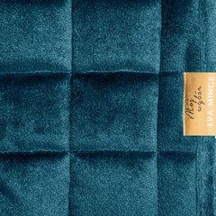 Pikowana narzuta do sypialni - mój wybór Eva Minge - turkusowa 220x240 cm - 220 X 240 cm - ciemnoturkusowy 4
