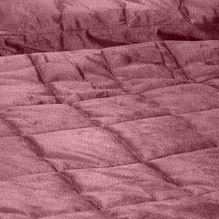 Pikowana narzuta do sypialni - mój wybór Eva Minge - różowa 220x240 cm - 220 X 240 cm - ciemnoróżowy 7