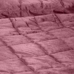 Pikowana narzuta do sypialni - mój wybór Eva Minge - różowa 220x240 cm - 220 X 240 cm - ciemnoróżowy 4