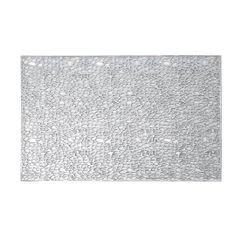 Srebrna ażurowa podkładka stołowa 46x30,5 cm - 46 X 30 cm - srebrny 1