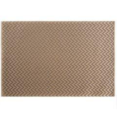 Strukturalna podkładka stołowa w zygzak złota 30x45 cm - 30 X 45 cm - beżowy 1