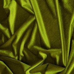 Zasłona WELWETOWA na przelotkach OLIWKOWA 140x250 - 140x250 - oliwkowy 1