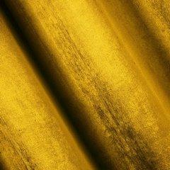 TAYLOR MUZTARDOWA ZASŁONA Z BŁYSZCZĄCEGO WELWETU NA PRZELOTKACH 140x250 DESIGN91 - 140 X 250 cm - musztardowy 2