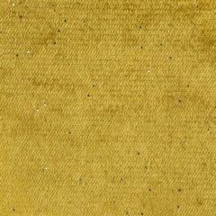 Musztardowa ZASŁONA WELWETOWA z brokatem na przelotkach 140x250 cm - 140X250 - musztardowy 3