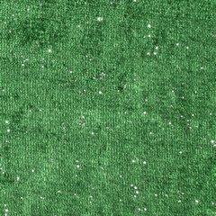 Zielona zasłona welwetowa z brokatem na przelotkach 140x250 cm - 140 X 250 cm - zielony 4