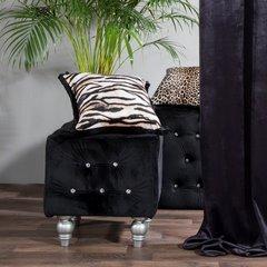 Tygrysie paski poszewka ozdobna - mój wybór Eva Minge 45x45 cm - 45 X 45 cm - brązowy/czarny 3