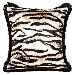 Tygrysie paski poszewka ozdobna - mój wybór Eva Minge 45x45 cm - 45 X 45 cm - brązowy/czarny 1