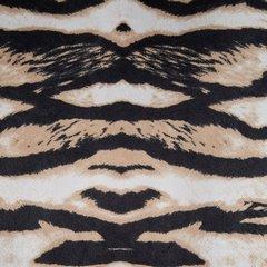 Czarne ZASŁONY WELWETOWE z modnym motywem zwierzęcym -Mój wybór EVA MINGE - przelotki - 140x250 - czarny, beżowy 2