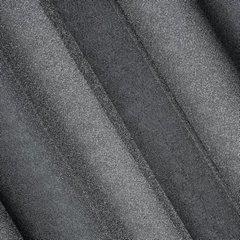 Delikatna ZASŁONA ZE SREBRNĄ NICIĄ czarna na przelotkach - 140x250 - Czarny, Srebrny 1