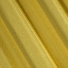 Zasłona Elisa z ozdobnym strukturalnym splotem musztardowa przelotki 140x250 cm - 140x250 - Musztardowy 2