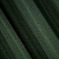 Zasłona Elisa z ozdobnym strukturalnym splotem ciemnozielona przelotki 140x250 cm - 140 X 250 cm - zielony 2