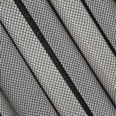 Ażurowa zasłona gotowa czarna na przelotkach 140x250 cm - 140 X 250 cm - czarny 2