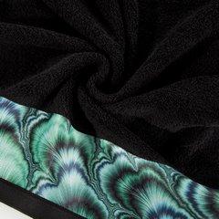 Czarny ręcznik kąpielowy - mój wybór Eva Minge 50x90 cm - 50 X 90 cm - czarny 7