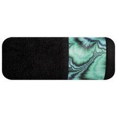 Czarny ręcznik kąpielowy - mój wybór Eva Minge 50x90 cm - 50 X 90 cm - czarny 2