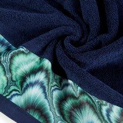 Granatowy ręcznik kąpielowy - mój wybór Eva Minge 70x140 cm - 70 X 140 cm - granatowy 7