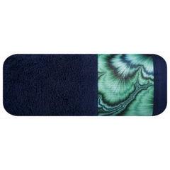 Granatowy ręcznik kąpielowy - mój wybór Eva Minge 70x140 cm - 70 X 140 cm - granatowy 2