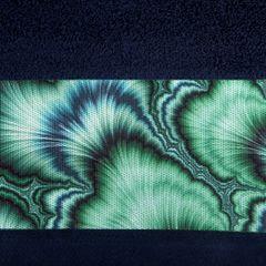 Granatowy ręcznik kąpielowy - mój wybór Eva Minge 70x140 cm - 70 X 140 cm - granatowy 4